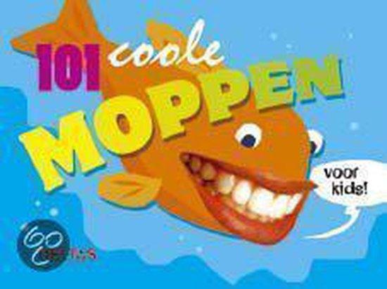 Cover van het boek '101 coole moppen voor kids !' van Jolanda Jager