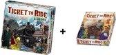 Ticket to Ride Europe + Ticket to Ride USA - Bordspel - Combi Deal