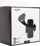 XQISIT Universele Autohouder - met Zuignap - Zwart