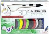 3Dandprint 3D Pen Starterspakket Wit - Inclusief 5
