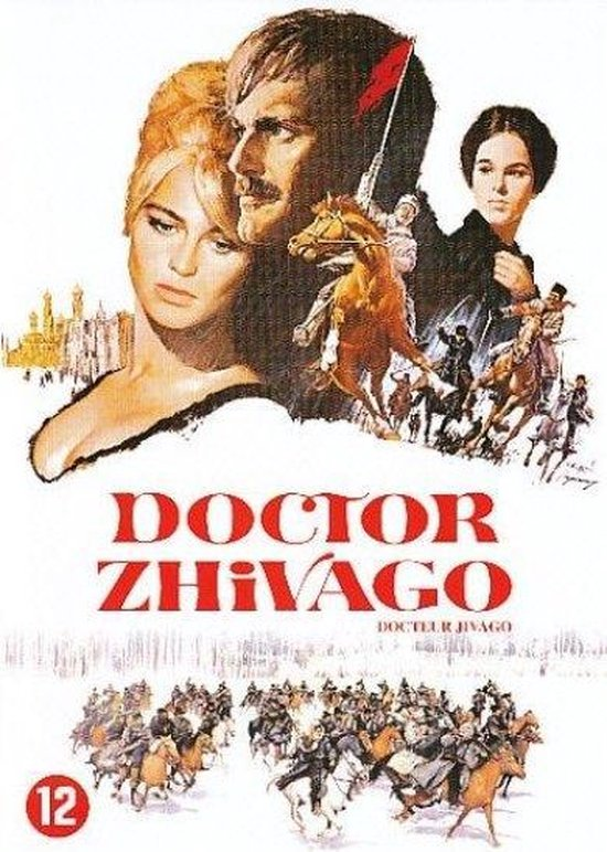 Cover van de film 'Doctor Zhivago'