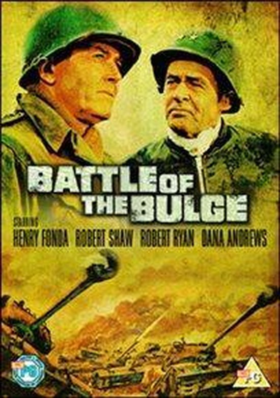 Cover van de film 'Battle Of The Bulge'