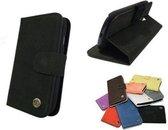 T-Case Samsung Galaxy S4 Wallet Hoesje Zwart