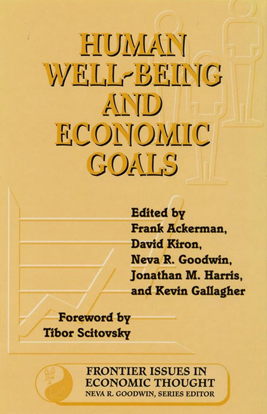 Boek cover Human Well-Being and Economic Goals van Frank Ackerman (Onbekend)