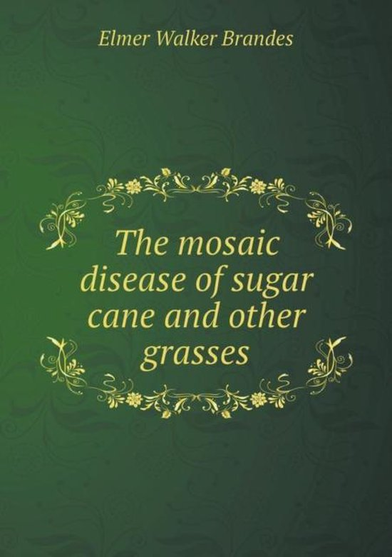 The Mosaic Disease of Sugar Cane and Other Grasses