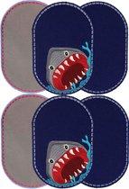 Knielappen (6) Shark Attack