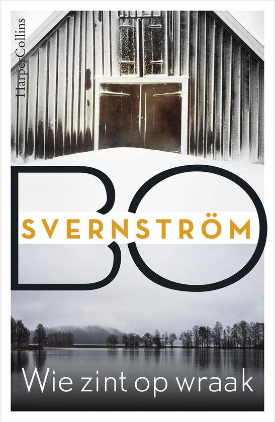 Boek cover Wie zint op wraak van Bo Svernström (Onbekend)