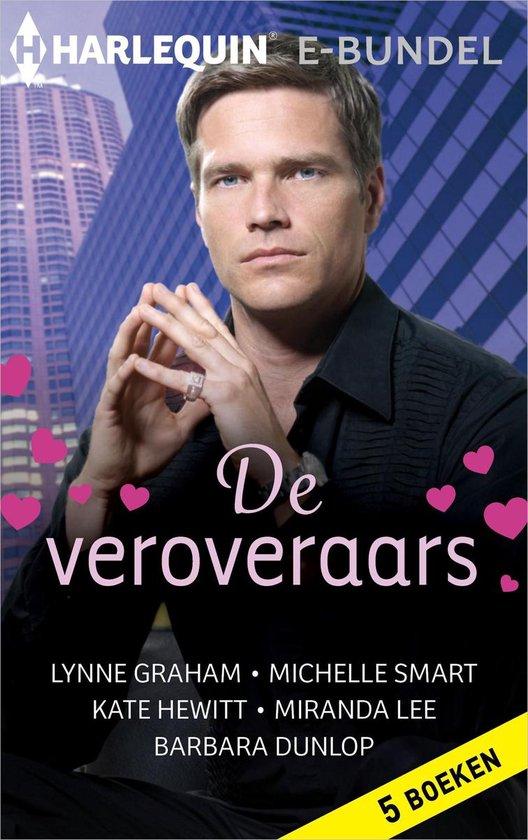 Boek cover De veroveraars van Lynne Graham (Onbekend)