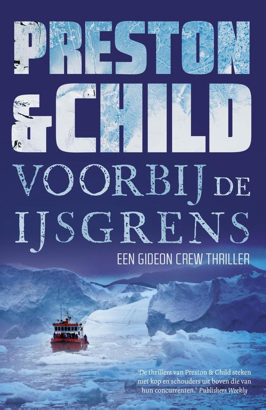 Gideon Crew - Voorbij de ijsgrens - Preston & Child |