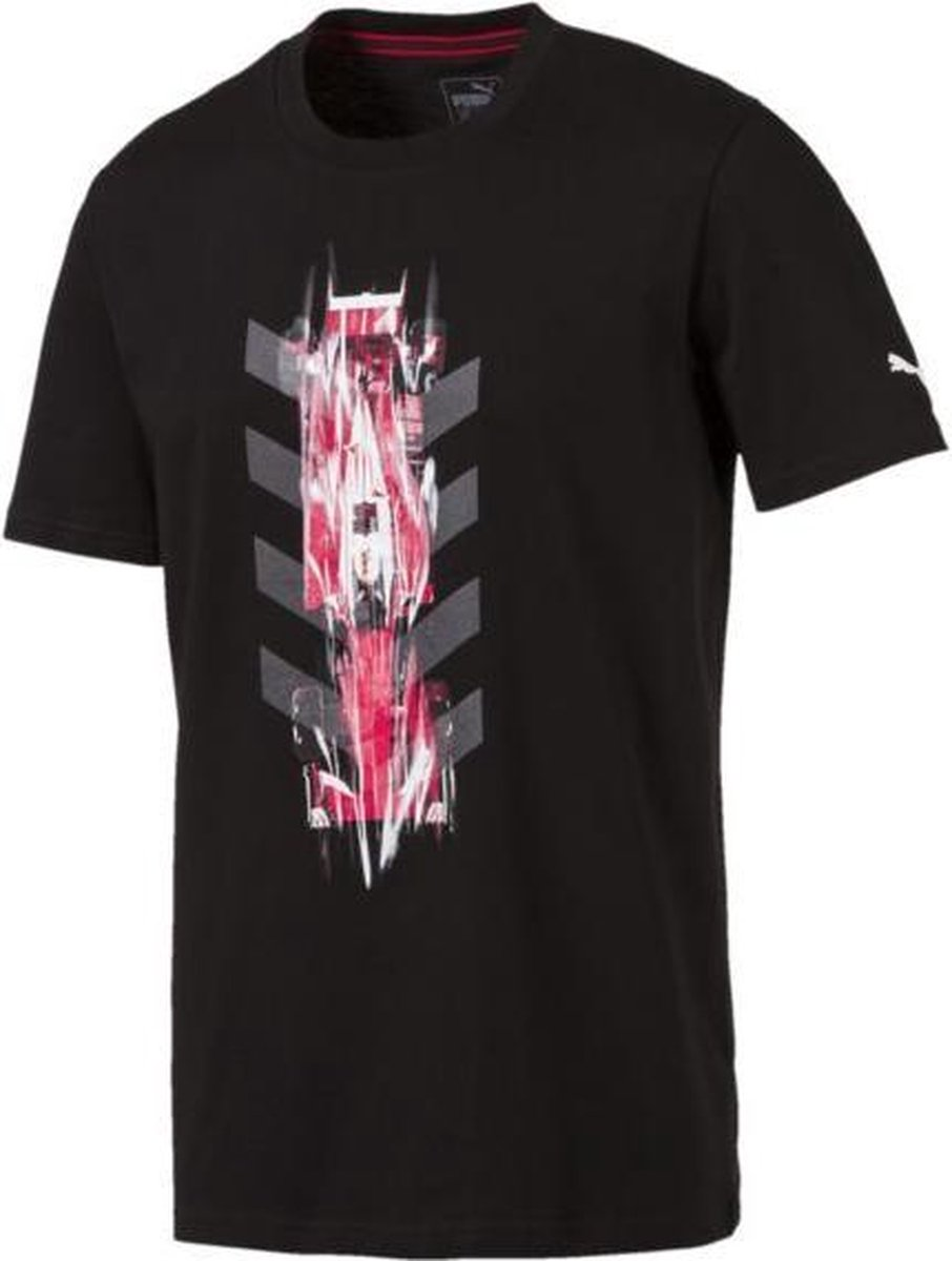 PUMA SF NightCat Graphic Tee Shirt Heren - Puma Black - PUMA