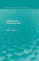 Boek cover Afghanistan: The Soviet War van Edward Girardet