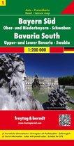 FB Duitsland blad 1, Zuid-Beieren • Opper- en Neder-Beieren •  Zwaben