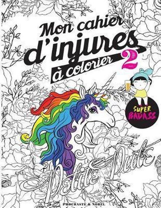 Mon Cahier d'Injures Colorier 2