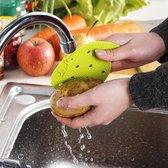 Groente Brusher | Fruit Borstel | Keuken | 2 stuks