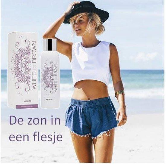 Whitetobrown Spray Tanning Mist Zelfbruiner- 200 ml