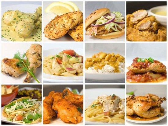 The Chicken Cookbook - 3772 Recipes