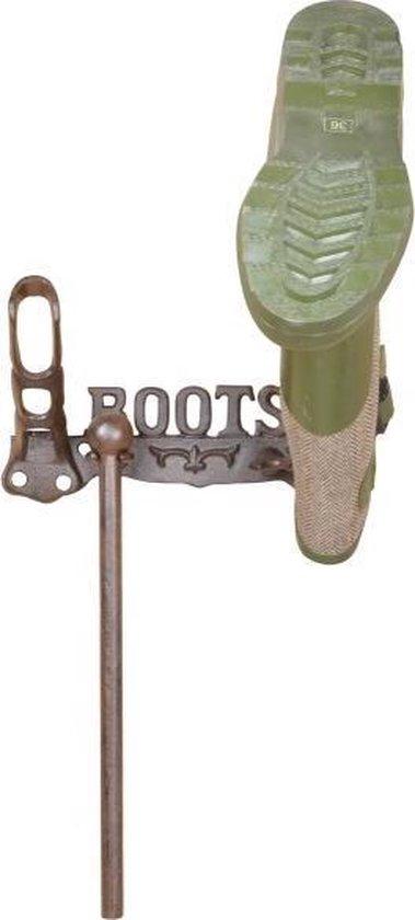 Wand laarzenrek voor 2 laarzen