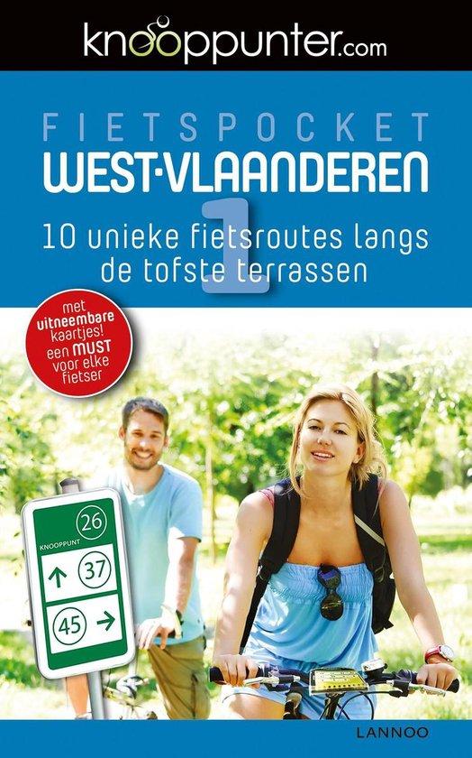 Boek cover Knooppunterfietsgids - Knooppunter Fietspocket - West-Vlaanderen van Patrick Cornillie (Paperback)