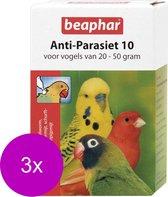 Beaphar Anti-Parasiet 10 Vogel - Vogelapotheek - 3 x 2 pip 20 - 50 G