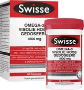 Swisse Omega 3 Visolie Voedingssuplement - 60 capsules