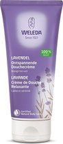 Weleda Lavendel Ontspannende Douchecrème - 200 ml - Natuurlijk