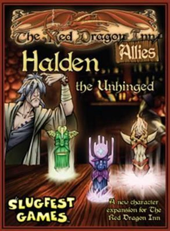 Red Dragon Inn: Allies - Halden the Unhinged Expansion