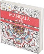 Craft Kleurboek Sensations Mandala Cards Rood