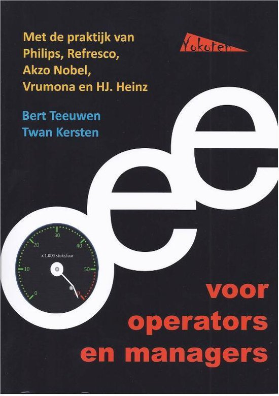 OEE voor operators en managers - Bert Teeuwen |