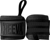 Reeva Wrist Wraps Zwart - Wrist Wraps geschikt voor Fitness, Crossfit en Krachttraining - Wrist Wraps voor Heren en Dames