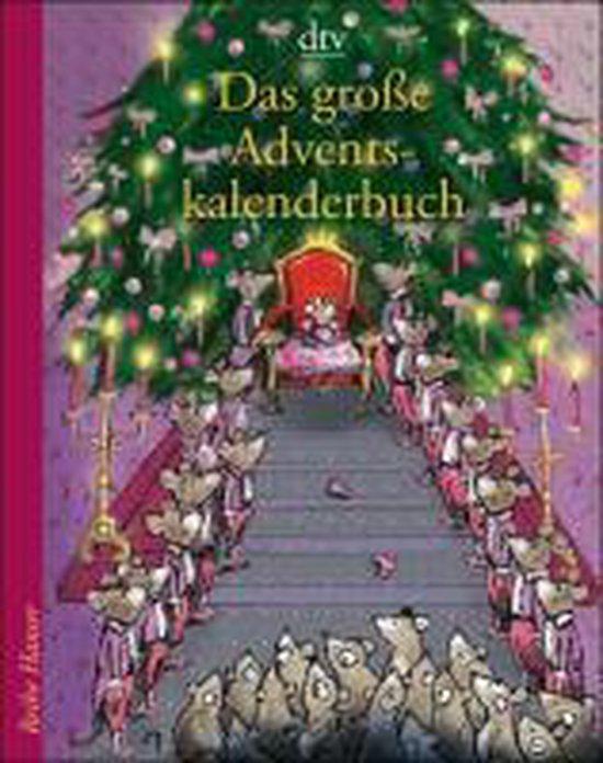 Boek cover Das große Adventskalenderbuch van Anu Stohner (Paperback)