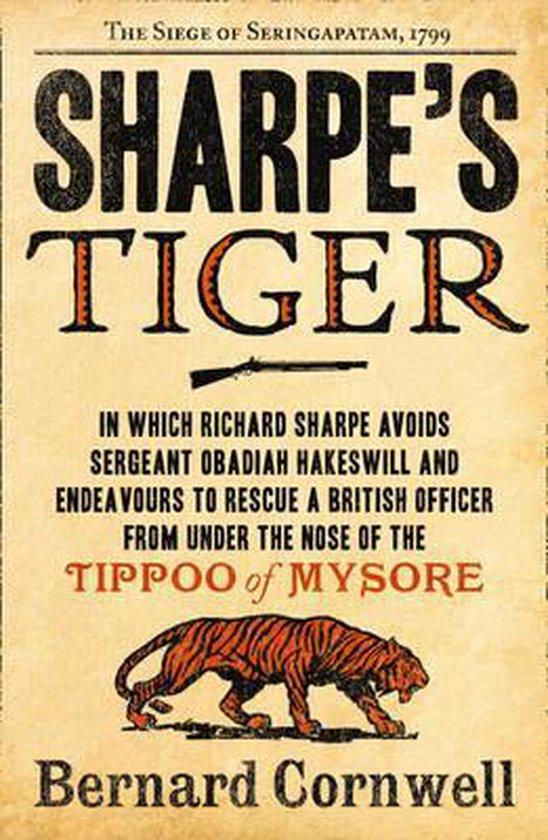 Boek cover Sharpes Tiger van Bernard Cornwell (Paperback)