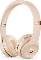 Apple Beats Solo3 Hoofdband Stereofonisch Bedraad en draadloos Goud