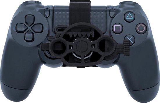 Midgetwheel Mini Racestuur voor Playstation 4 - Zwart kleur