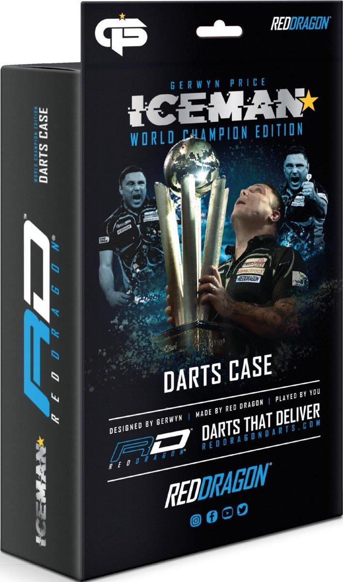 Red Dragon Gerwyn Price World Champion Edition Darts Case