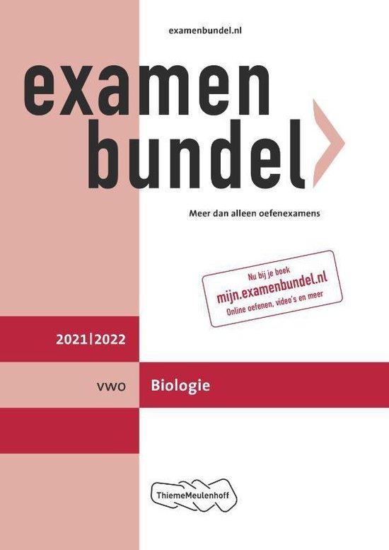 Boek cover Examenbundel vwo Biologie 2021/2022 van  (Paperback)