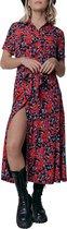 Dalia Roses Maxi Shirt Dress