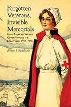 Omslag Forgotten Veterans, Invisible Memorials