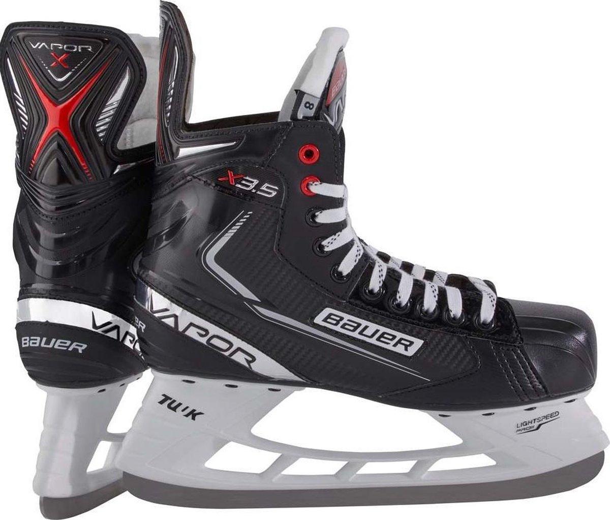 Bauer Ijshockeyschaatsen Vapor X3.5 Int. Microfiber Zwart Mt 40,5