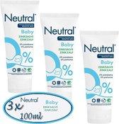 Neutral Baby Zinkzalf -3x  100 ml - voordeel -pak