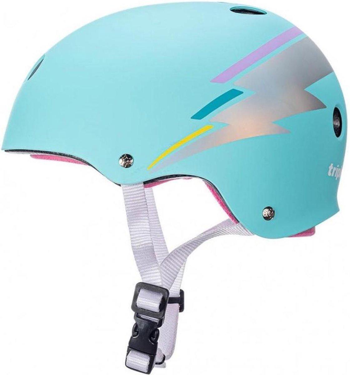 The Certified Sweatsaver Helmet Teal Hologram XS/S
