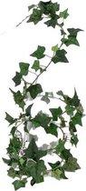 Groene slingerplant Hedera Helix/klimop kunstplant 180 cm voor binnen -  kunstplanten/nepplanten - Woondecoraties