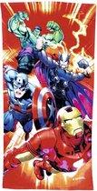 Marvel Avengers badhanddoek, strandlaken 100% katoen