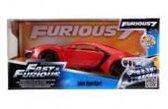 Lykan Hypersport van de Film Fast and the Furious 1-24 Rood Jada Toys
