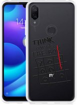 Xiaomi Mi Play Hoesje Think outside the Box
