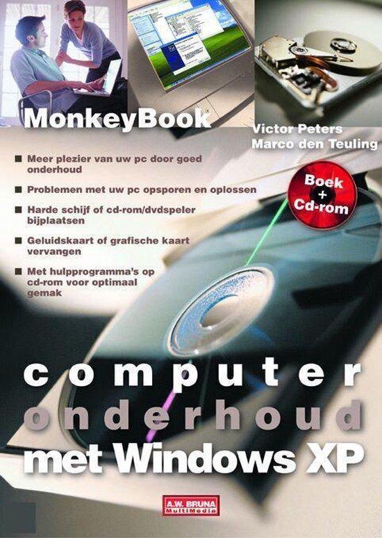 Cover van het boek 'Computeronderhoud met Windows XP + CD-ROM'