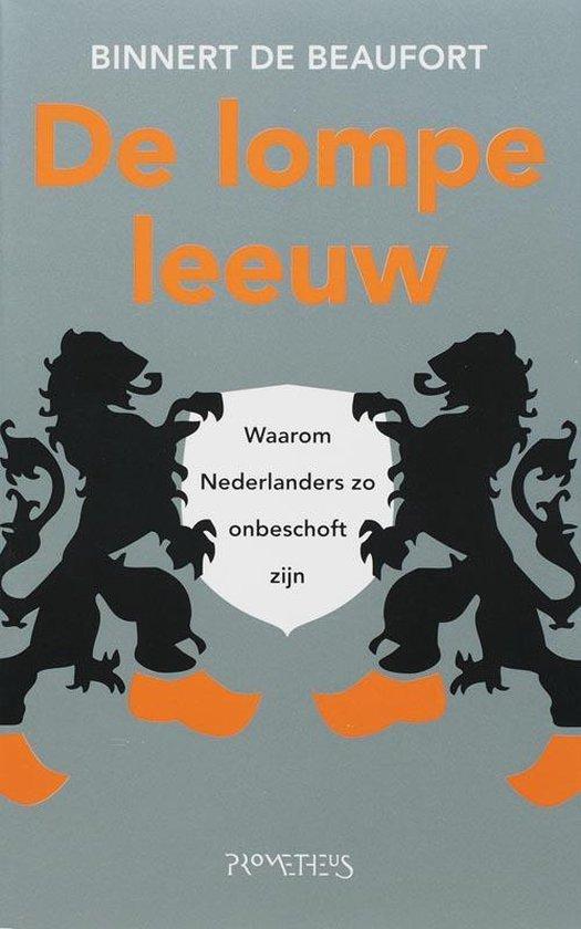 Cover van het boek 'De lompe leeuw' van Binnert de Beaufort