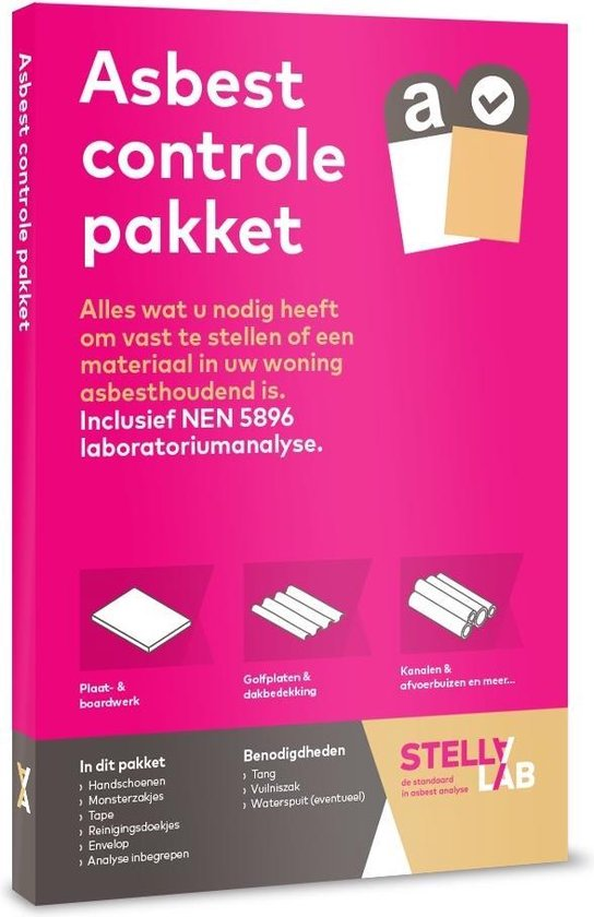 Asbest controle pakket