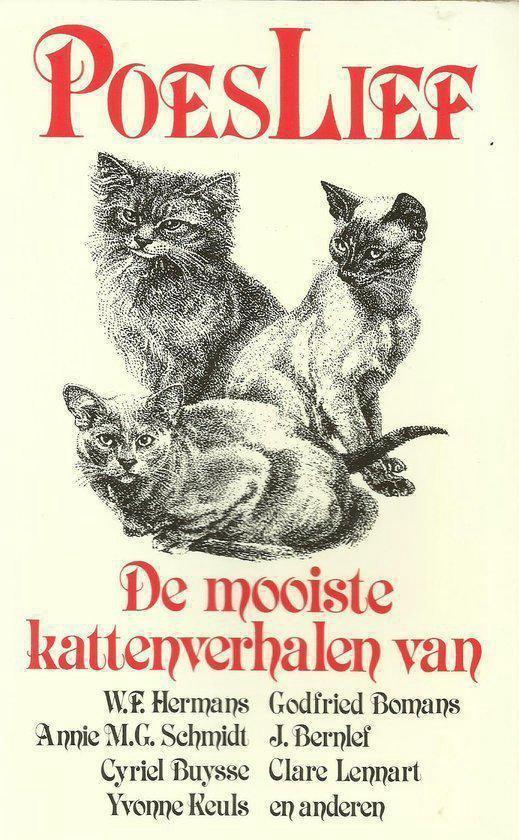 POESLIEF. DE MOOISTE KATTENVERHALEN - none  