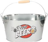 Metalen koelemmer Cold Beer