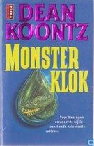 Boek cover Monsterklok van Dean Koontz